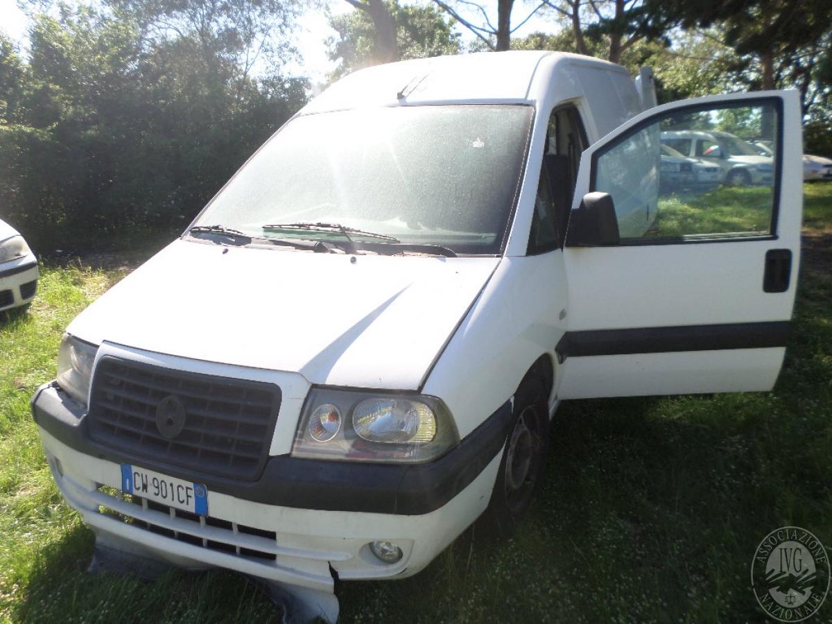 Autocarro Fiat Scudo   GARA ONLINE 22 OTTOBRE 2021