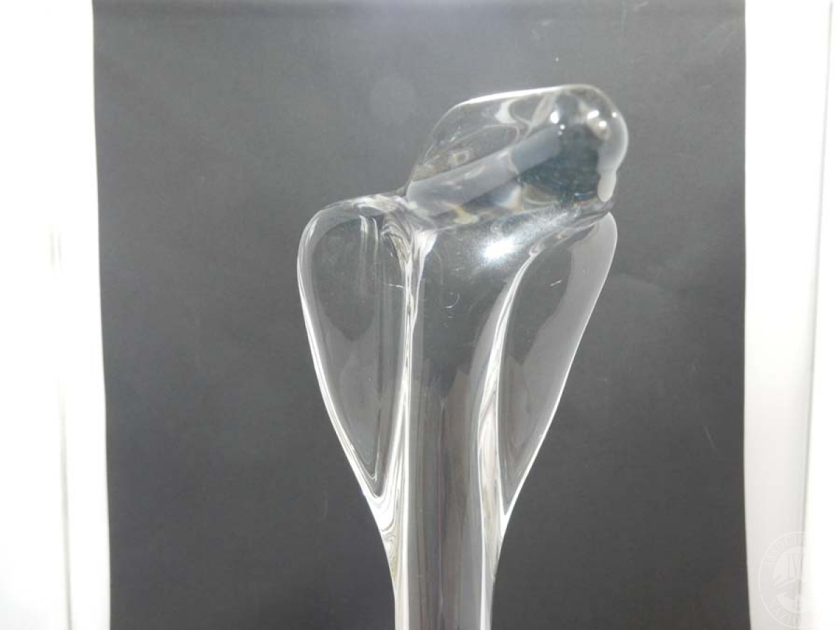 Rif. 8) Serpente in vetro DAUM   GARA ONLINE 15 OTTOBRE 2021