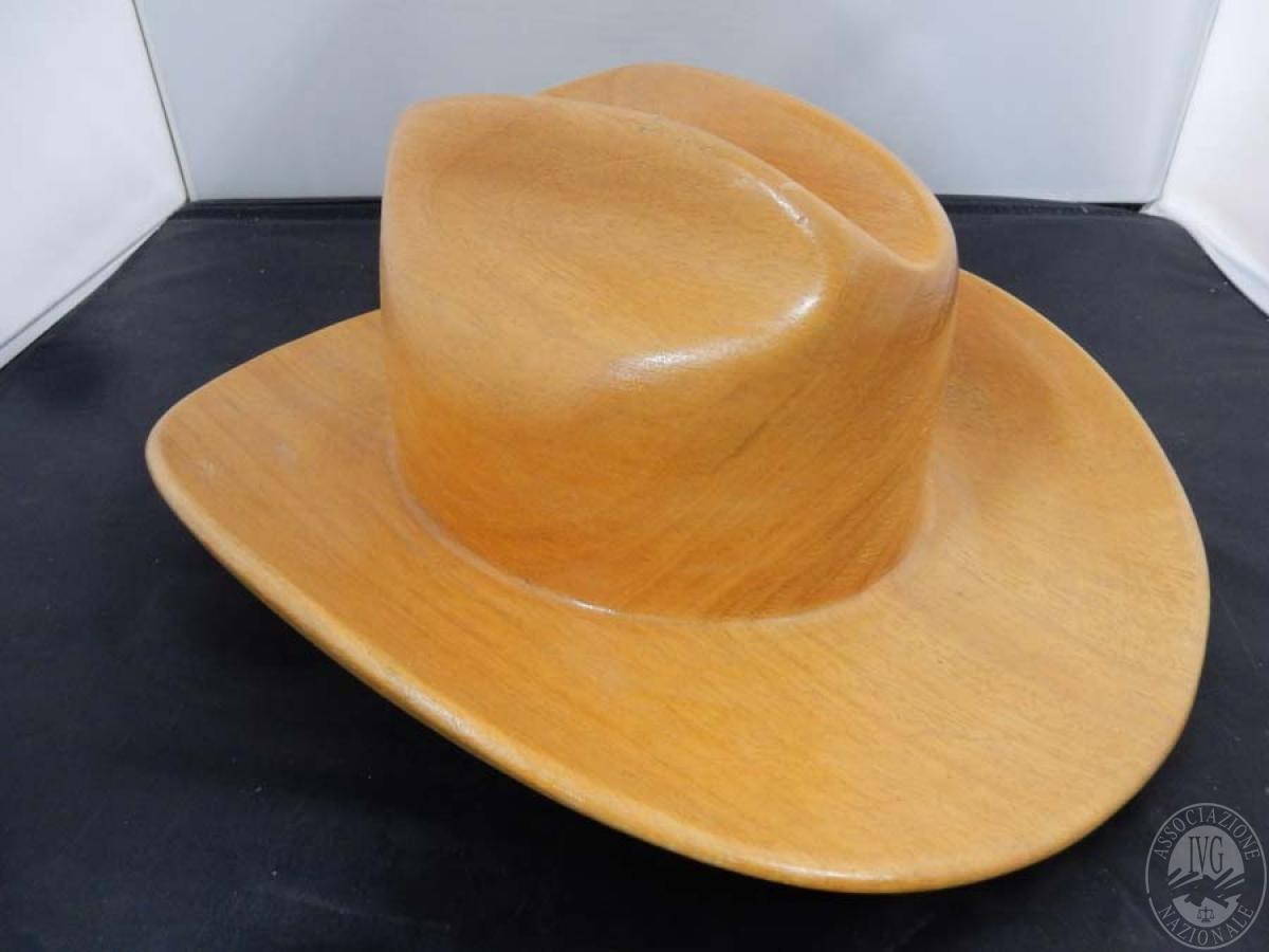 Rif. 41) Cappello in legno   GARA ONLINE 15 OTTOBRE 2021 1