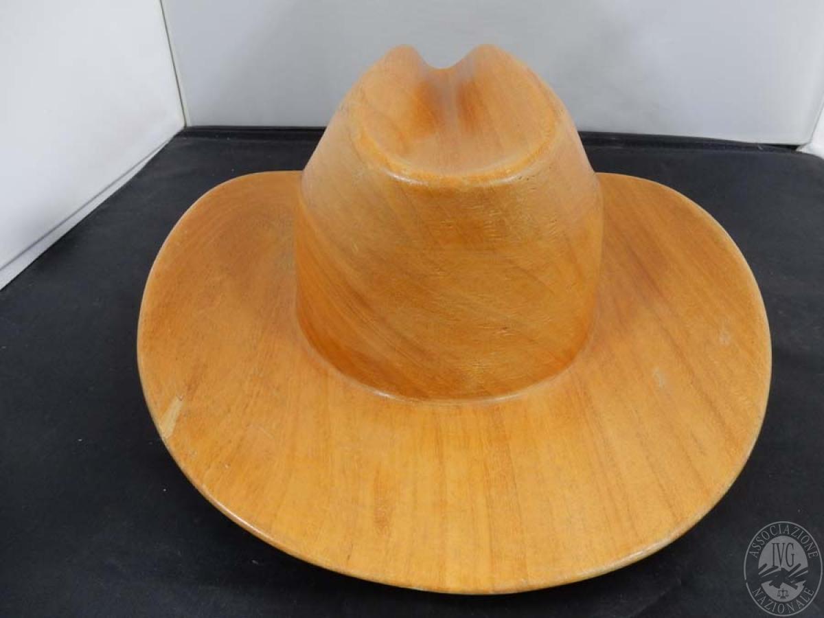 Rif. 41) Cappello in legno   GARA ONLINE 15 OTTOBRE 2021 2