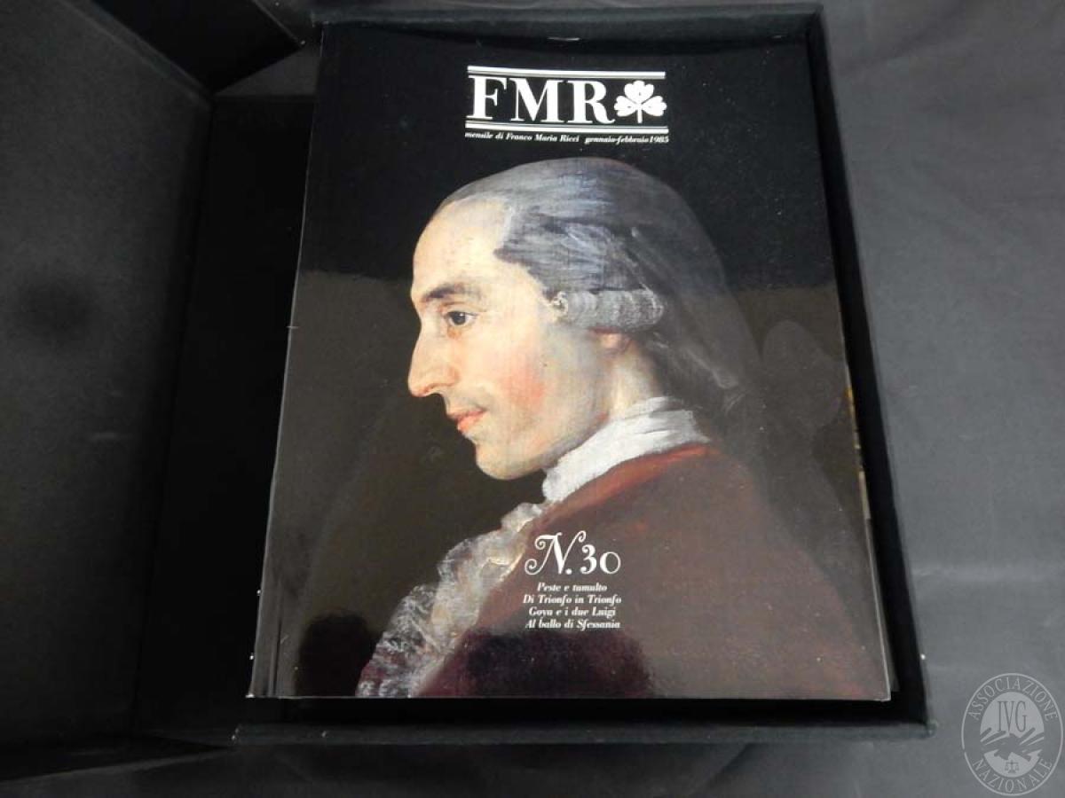 Rif. 2) N. 6 raccoglitori con riviste di Franco Maria Ricci    GARA ONLINE 15 OTTOBRE 2021