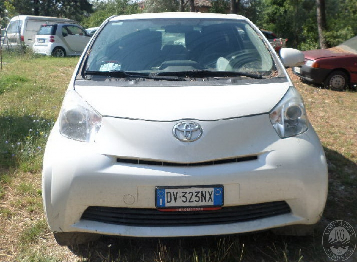 Autovettura Toyota IQ     GARA ONLINE 22 OTTOBRE 2021
