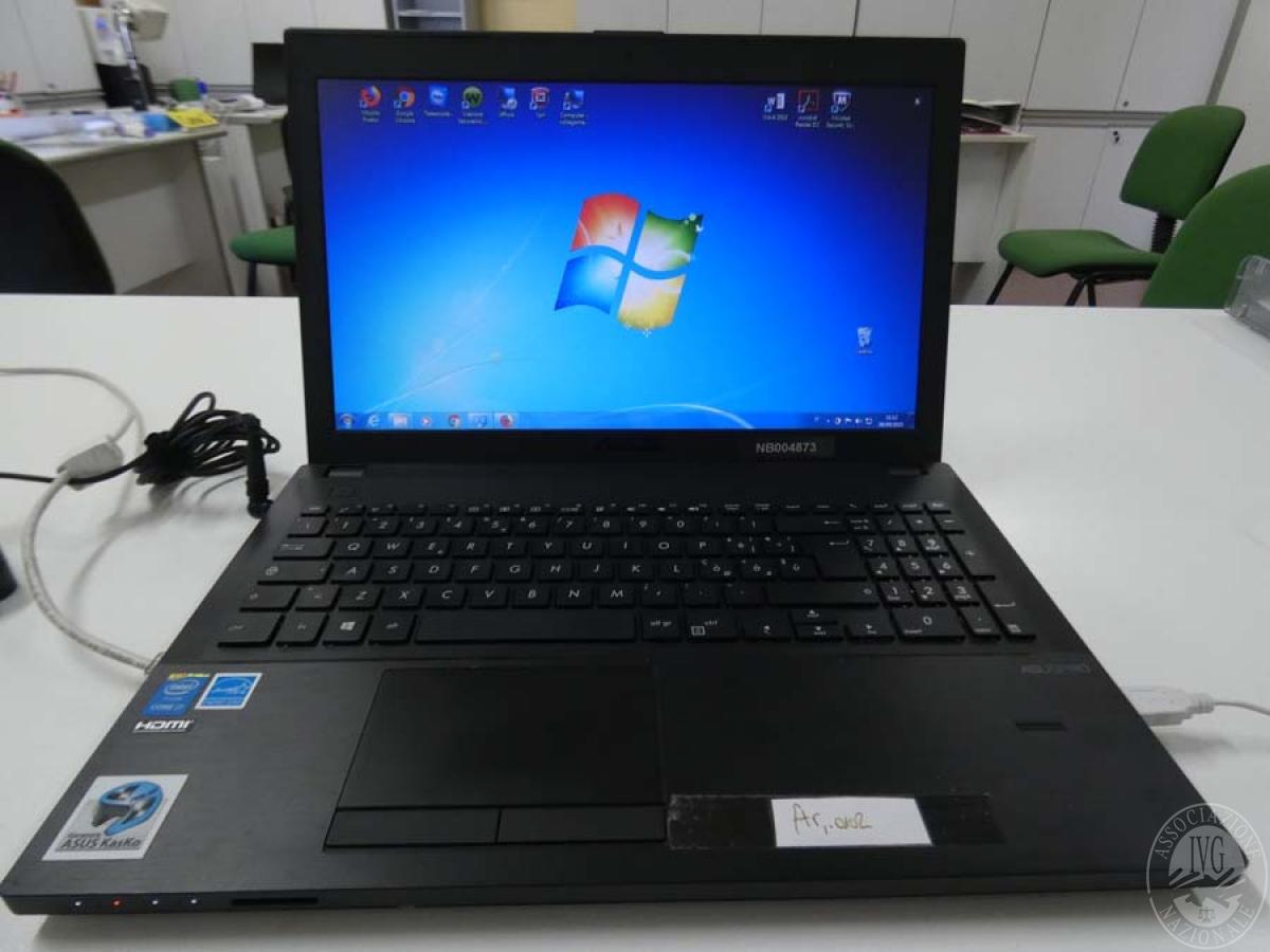 Rif. 2) Computer portatile ASUS     GARA ONLINE 22 OTTOBRE 2021