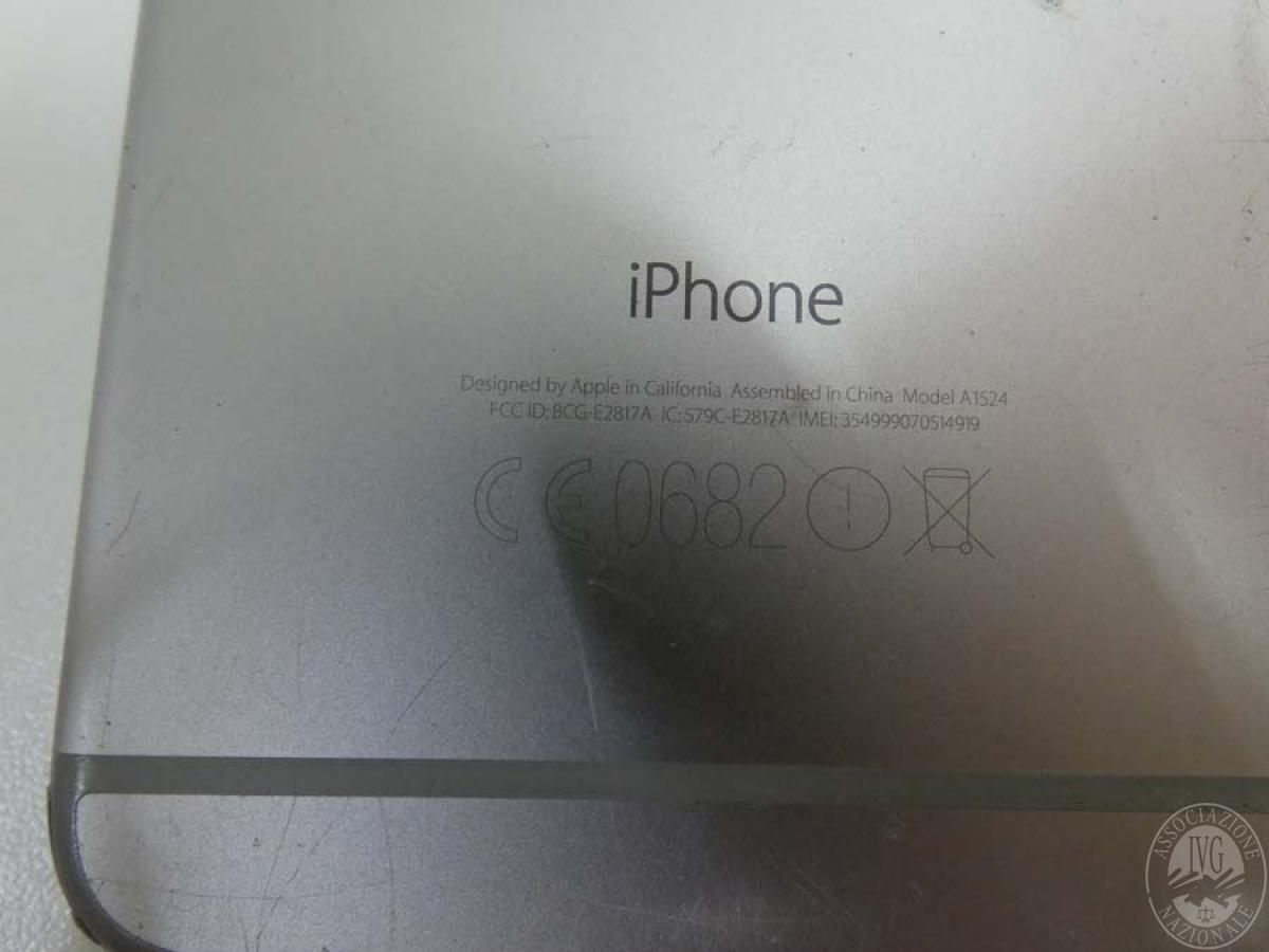 Cellulare  iPHONE 6     GARA ONLINE 22 OTTOBRE 2021 9