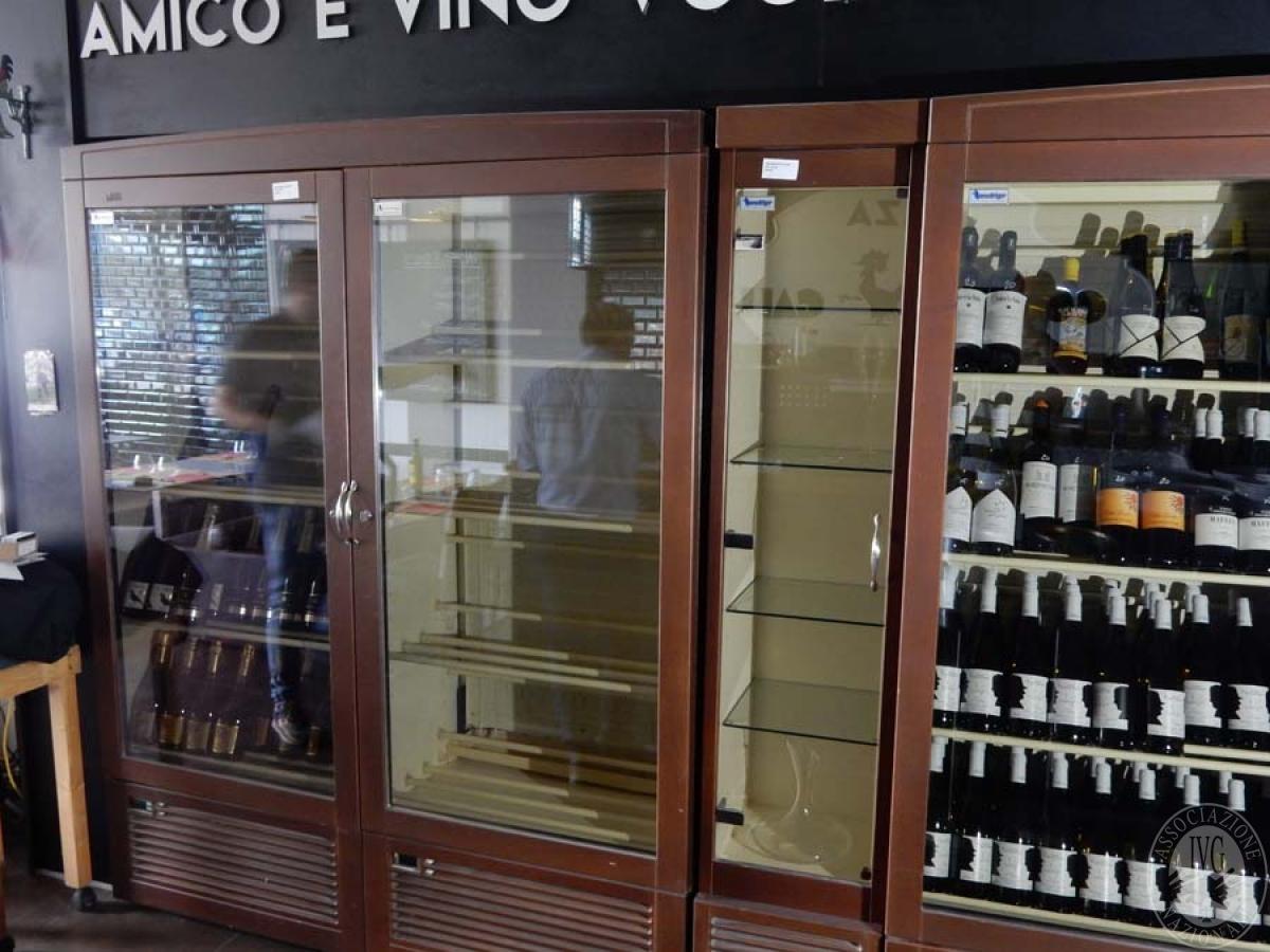 Lotto 45) N. 4 armadi frigoriferi Enovino     GARA ONLINE 29 NOVEMBRE 2021