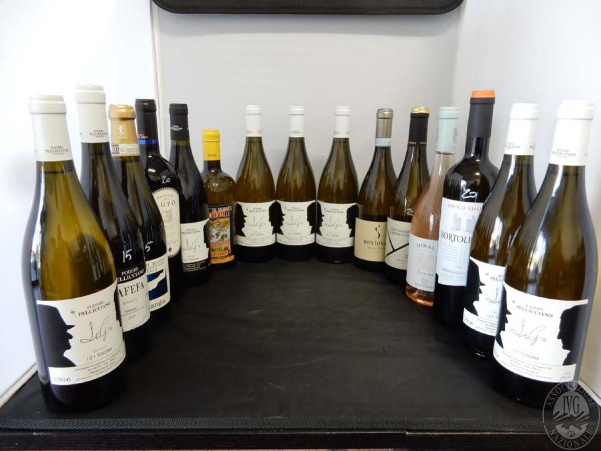 Lotto 13) N. 15 bordolesi assortite di vino     GARA ONLINE 13 DICEMBRE 2021