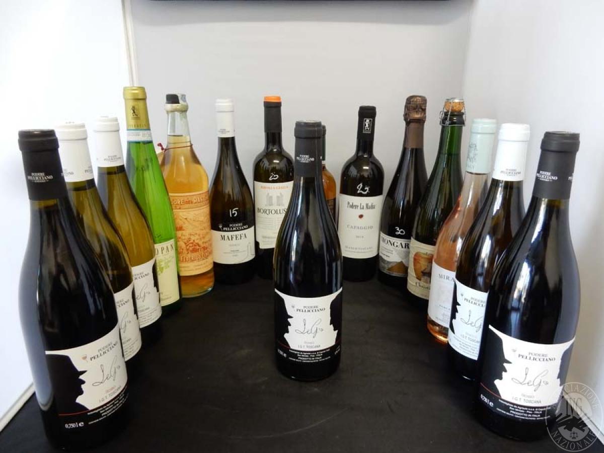 Lotto 14) N. 15 bordolesi assortite di vino     GARA ONLINE 13 DICEMBRE 2021