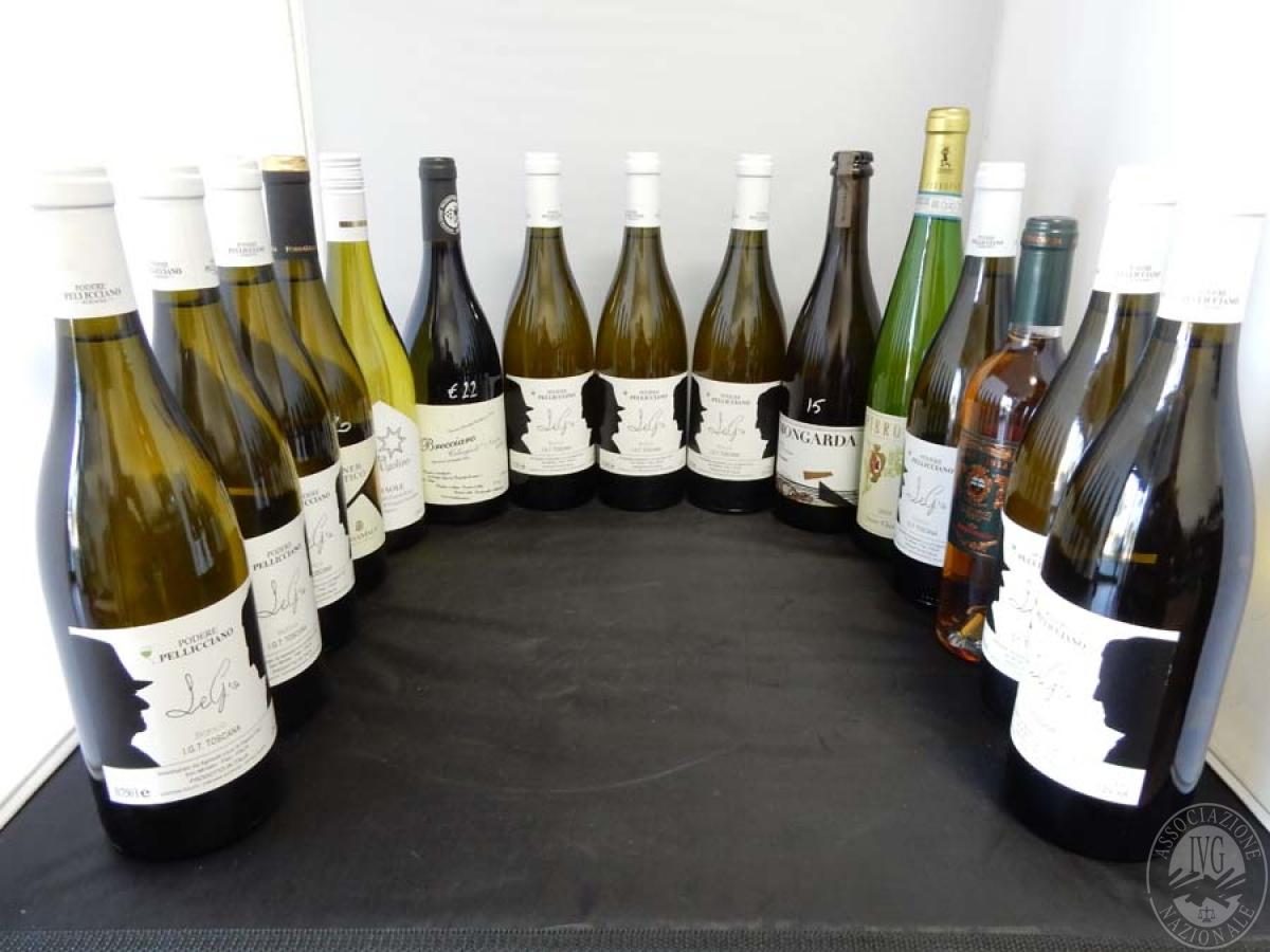 Lotto 15) N. 15 bordolesi assortite di vino     GARA ONLINE 13 DICEMBRE 2021