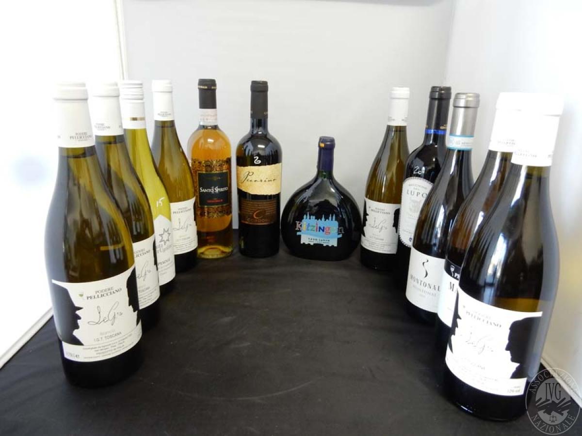 Lotto 16) N. 12 bordolesi assortite di vino     GARA ONLINE 13 DICEMBRE 2021