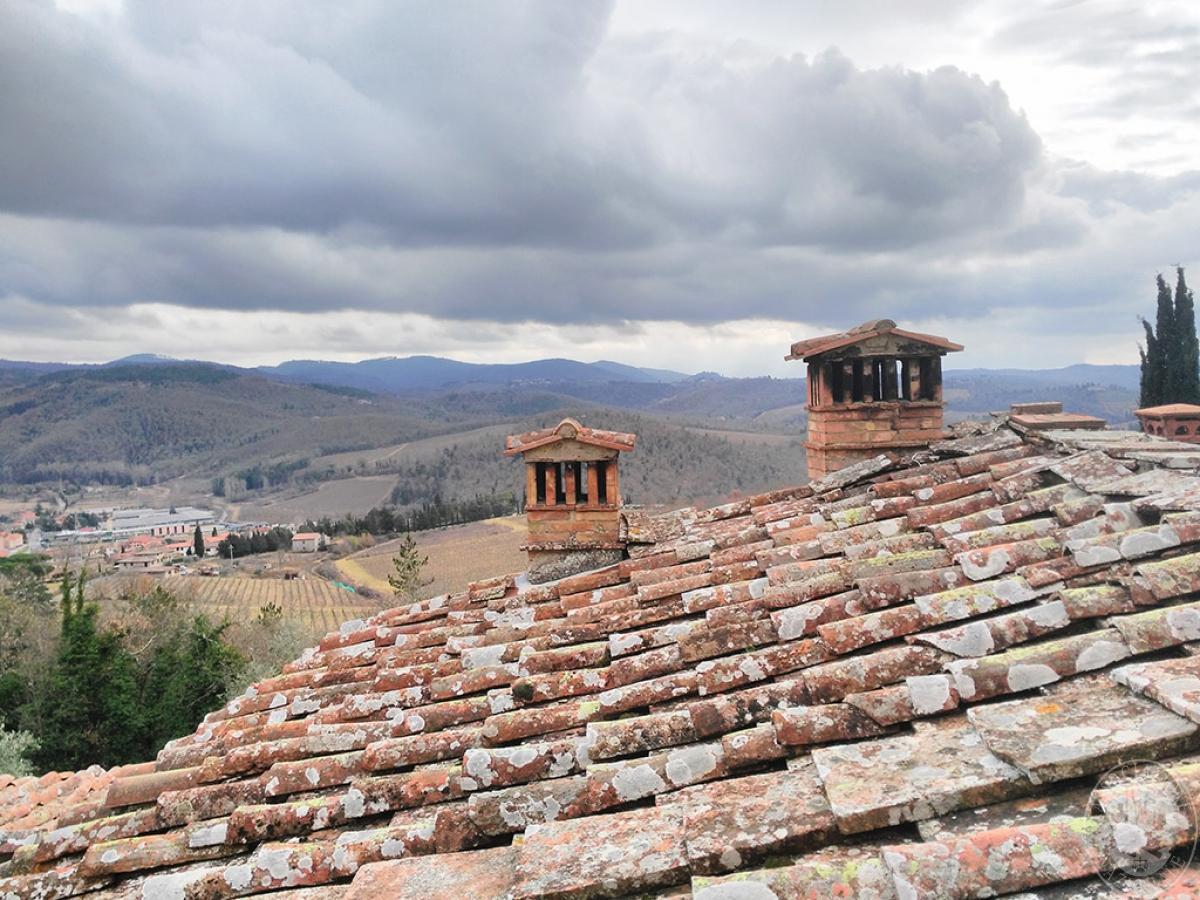 Casolare in GAIOLE IN CHIANTI in loc. Cavarchione 26