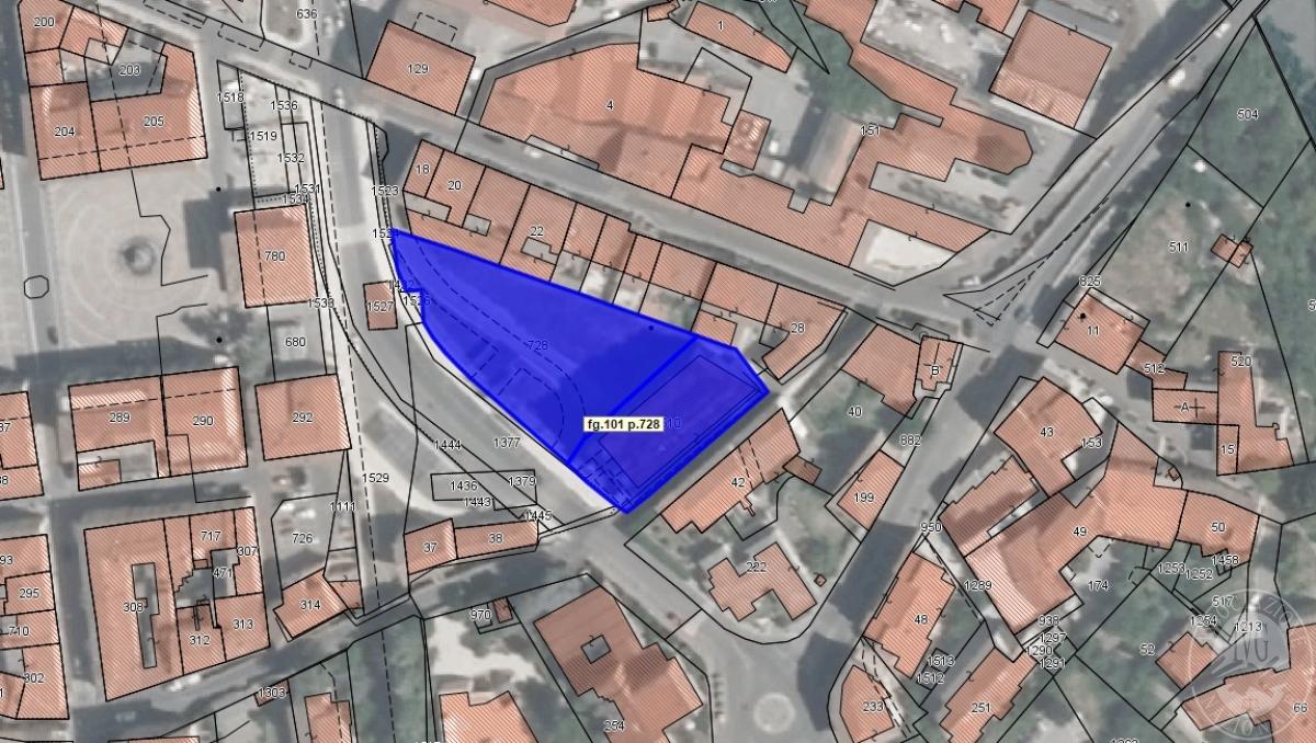 Parcheggio interrato a COLLE VAL D'ELSA - Lotto 1 COLLE BASSA