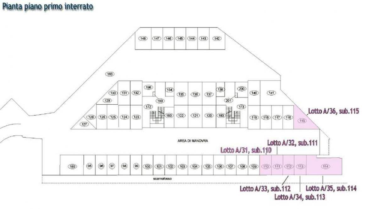 Ufficio ad AREZZO - LOTTO 93 (ex lotto A/93)