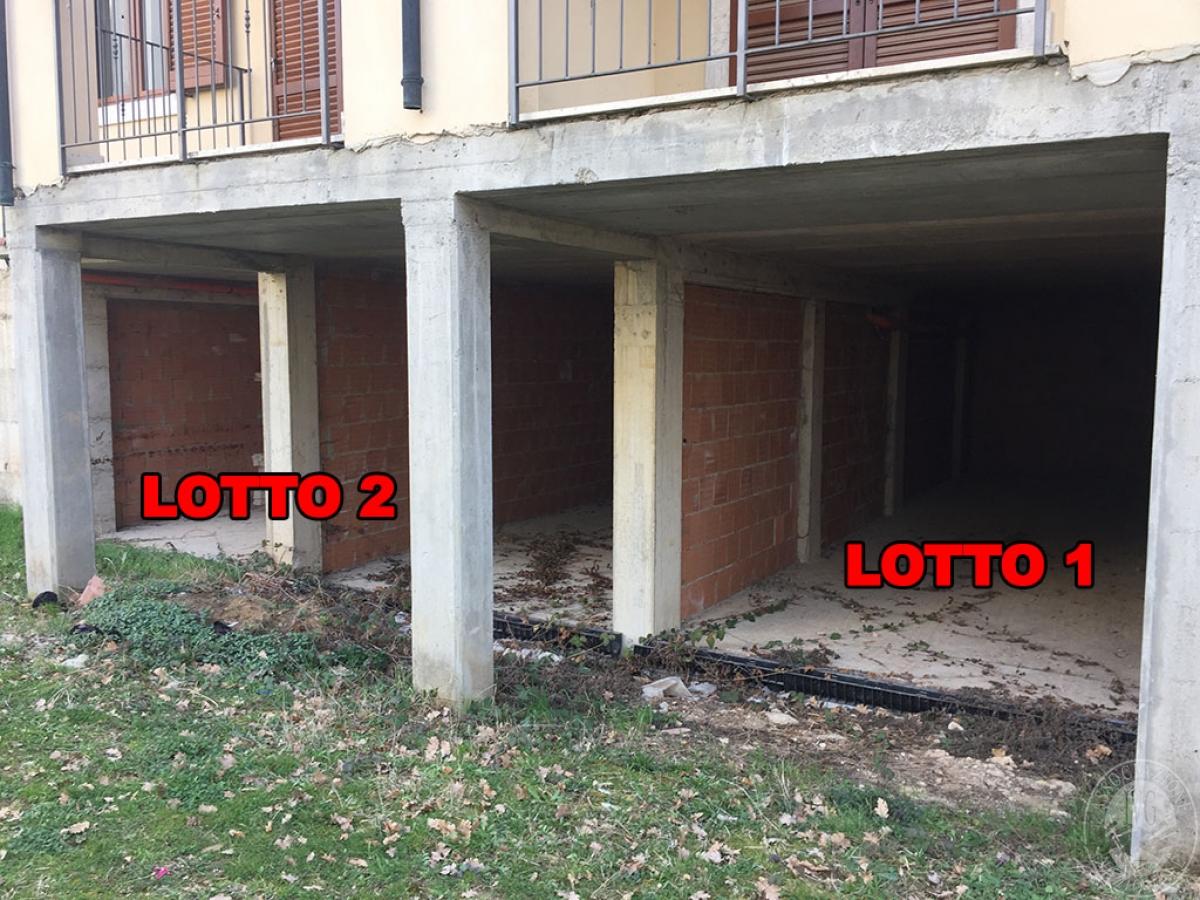 Garage a CASTIGLIONE D'ORCIA in loc. Paltrinieri - Lotto 3 4